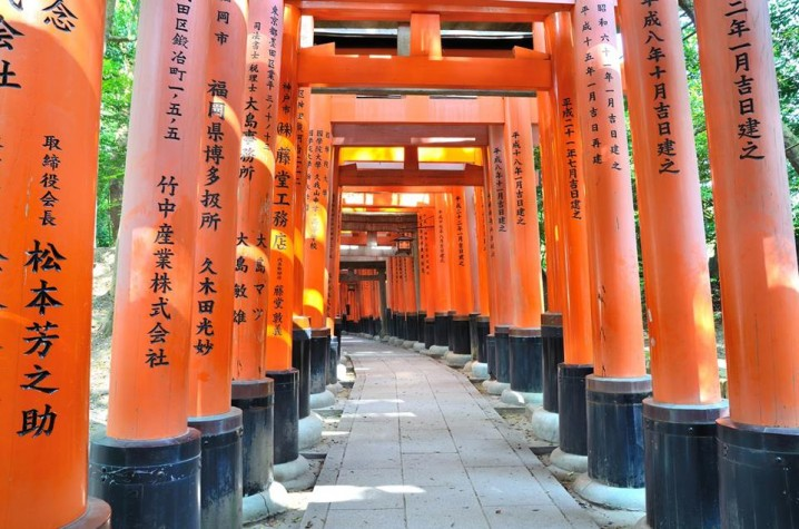 """""""Senbon Torii"""" (""""thousands of torii gates"""")"""