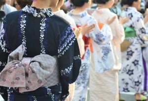 "Back side of ""YUKATA"""