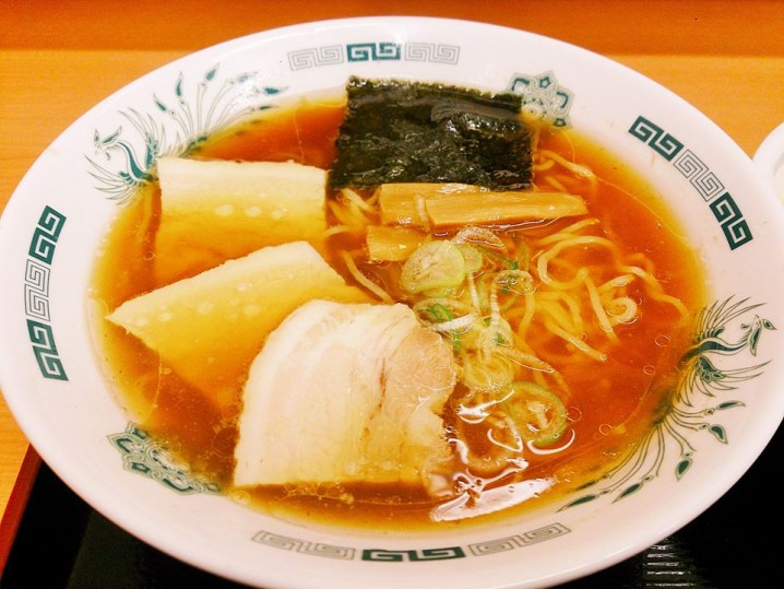 "The basic ""Shoyu-RAMEN""."