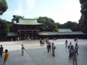 The gate of Meiji Jingu