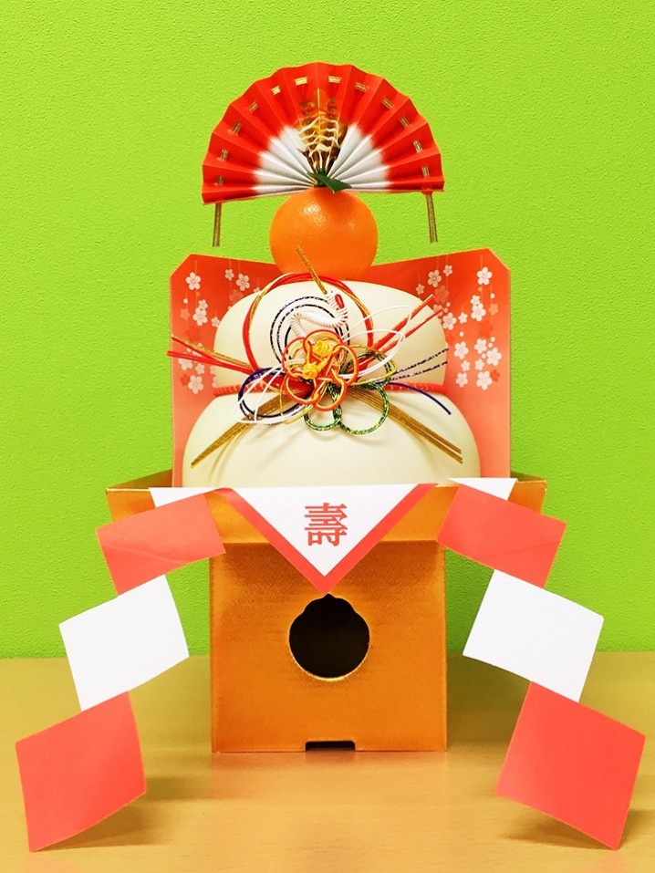 "Decorations of ""Kagami-Mochi"" has various meanings."