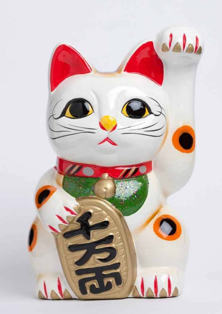 """Manekineko"" (a welcoming cat)"