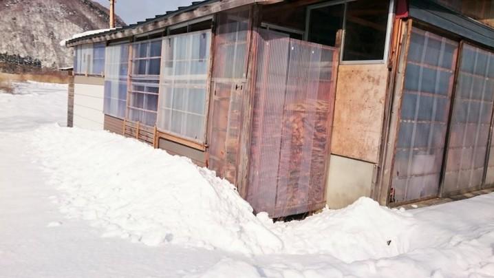 """""""Yuki-gakoi"""" (Snow Fence)"""