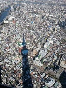 The view from TOKYO SKYTREE.