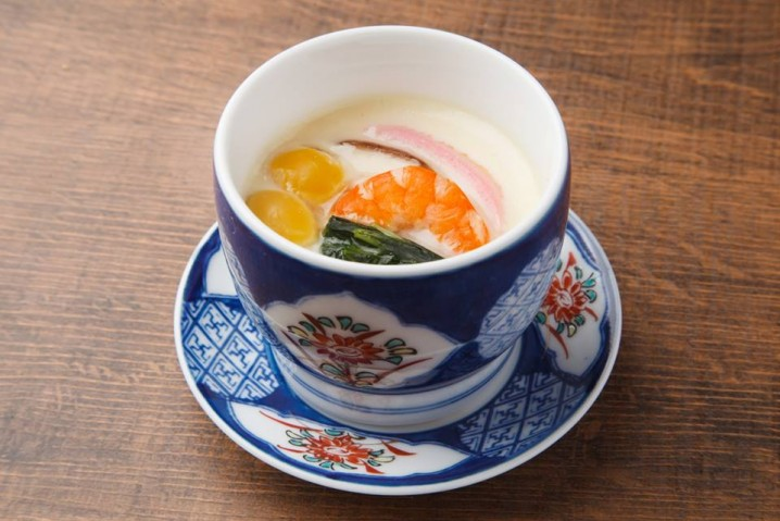 """Chawan-mushi"". It's like pudding."