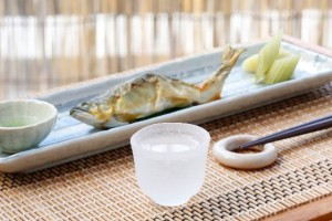 """Hanabie"" has also meaning a temperature of ""Sake""(Japanese sake)."