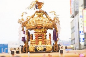 """Mikoshi"" (Miniature shrine)"