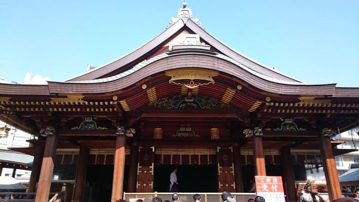 Yushima Tenmangu shrine (Yushima Tenjin)
