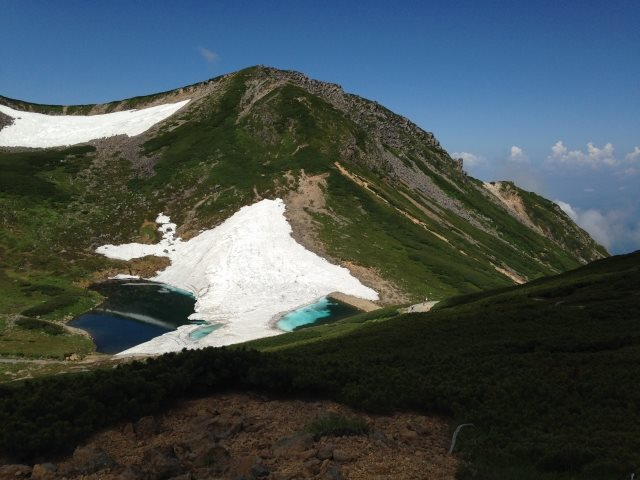 """Norikura dake"" @ Hida Mountain Range (Nagano Prefecture and Gifu Prefecture)"