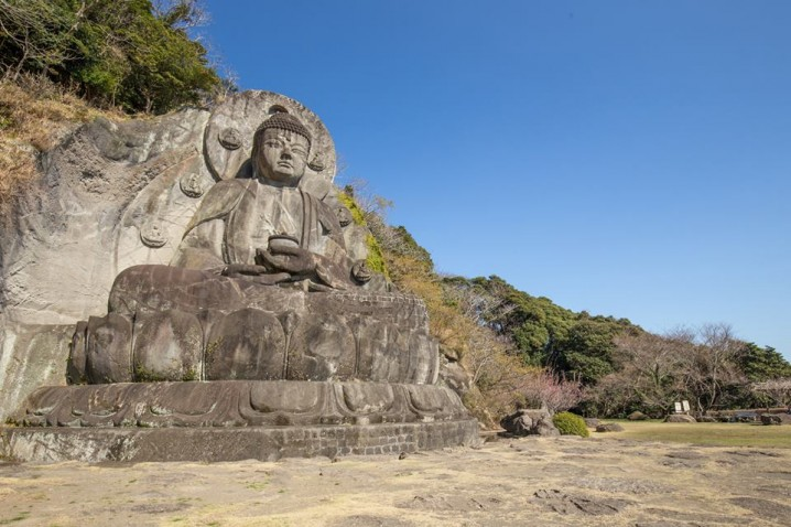 "The relief of ""Daibutsu"""