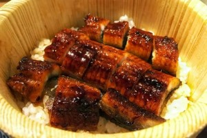 """hitsumabushi"" is one of the eel dishes."
