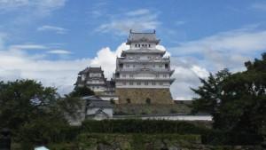 "National treasure ""Himeji Castle""."