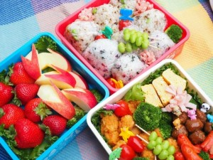 "The lunch box in ""Undou-kai"" is one of the fun, too!"