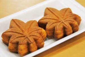 "You can buy ""Momiji manjyu"" in all over Japan."