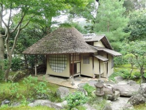 """Azumaya"" (tea room) is beautiful from simplicity and serenity."