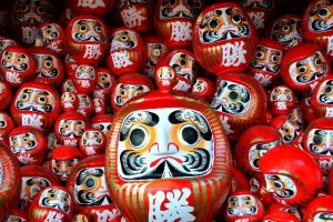 """Daruma"" is object or a toy."