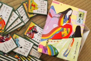 "It's also used to ""Hyakunin Isshu"" (traditional Japanese playing card)."