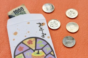 """Otoshi-dama"" (A new year's monetary gift)"