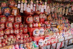 """daruma fair"" is held nationwide."