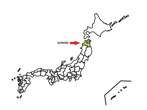 AOMORI is located the most north in mainland of Japan.