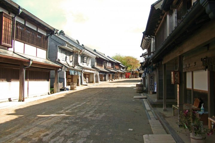 Boso-no-mura is reproduced a Japanese scenery of about 150 years ago (from the late Edo era to early Meiji era).