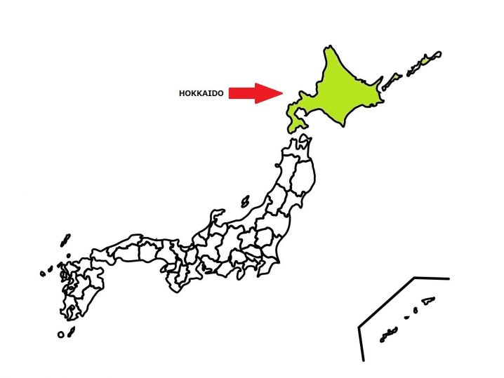 HOKKAIDO is located the most north in Japan.
