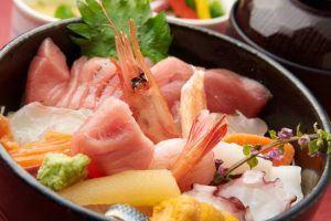 Kaisen-Don (seafood bowl)