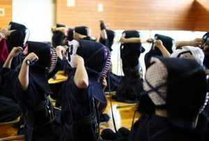preparation for Kendo.
