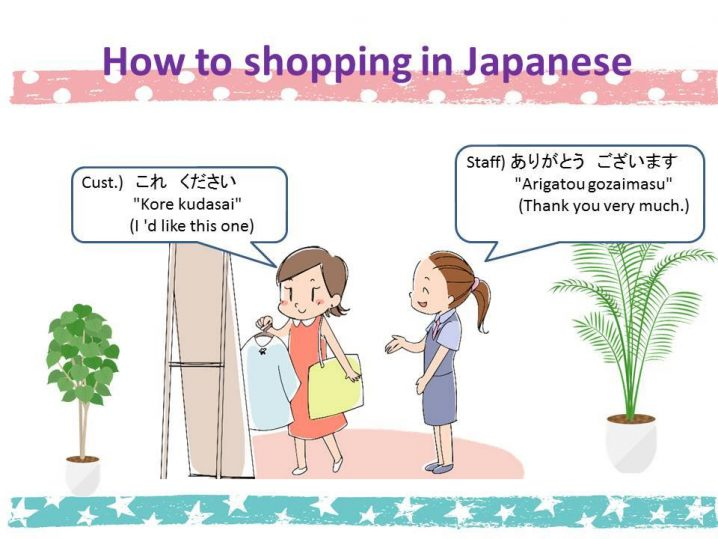 [Studying Japanese: How to shopping in Japanese]