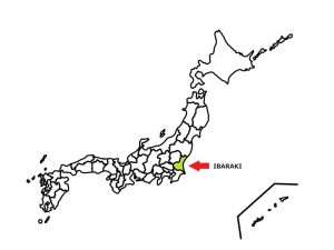 IBARAKI locates at Kanto region.