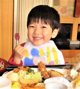 "Children love ""Okosama lunch"" (Child's Meal)!"