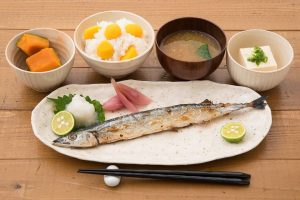 """ichiju-sansai"" (one soup, three sides) is famous in Japan."